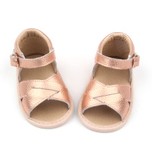 Mjuk Sole Leather Baby Toddler Sandaler