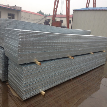 1x6m Hot mencelupkan Galvanzied Steel Grating
