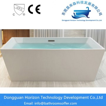 Hotel freestanding square bathtubs