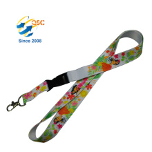 Custom Sports Neck Strap/Key Holder Heat Transfer Lanyard