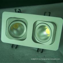 Cuadrados de calidad superior led downlight parts