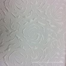 100 % polyester fleur Jacquard pour le vêtement et tissu de Textile à la maison