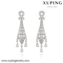 E-184 Xuping 2016 moda artesanal linha borla brinco