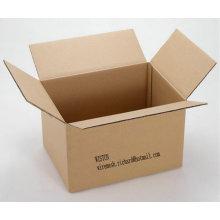 Caixa de empacotamento ondulado / caixa da caixa / caixa corrugada papel da caixa de cor