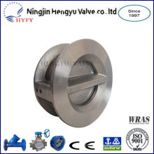 Environmental friendly stainless steel y check valve