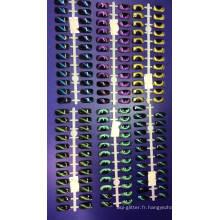 Poudre magnétique de caméléon 3D / pigments d'yeux de chat pour cosmétiques, vernis à ongles / art, fard à paupières, maquillage, etc.