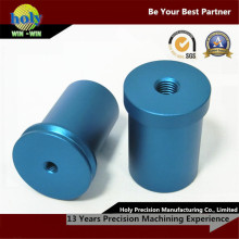 Пробка Втулка Цвет анодированный алюминиевый корпус CNC подвергая механической обработке Повернутые CNC