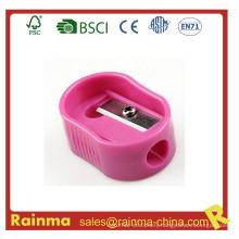 Plastic Pink Kids Pencil Sharpener