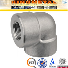 F316 Stainless Steel 90 D Threaded Elbow Pipe Fittings