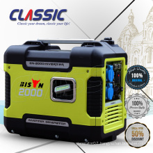 CLASSIC(CHINA) Low Noise 2KW Inverter Generator,Portable 2-Stroke Engine Gasoline Generator,Digital Inverter Gasoline Generato