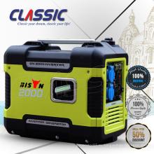 CLASSIC (КИТАЙ) Низкий шум 2KW инверторный генератор, портативный 2-тактный двигатель бензиновый генератор, цифровой инвертор, бензиновый генератор
