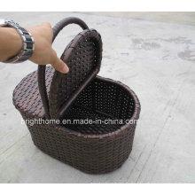 Panier de serviettes de handcraft Panier d'approvisionnement d'hôtel