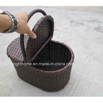 Handcraft cesta de toalha cesta de suprimentos hotel