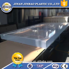 1220*2440 1500*2500mm swimming pool used clear 50mm plexiglass