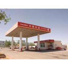 Neues Design Stabile Stahlbau Raumrahmen Tankstelle