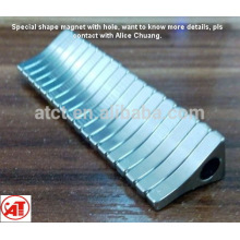 High Quality Special Shaped with special holes Ndfeb Magnet