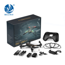Wifi FPV Control Drone 2.4G 4CH 6 axes Gyro Long Flight Time RC Drone Kit avec appareil photo 0.3MP