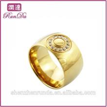 Горячие мужские кольца с кольцом из нержавеющей стали