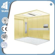Avec main courante et PVC Floor Hospital Elevator of Speed 1.0m / S