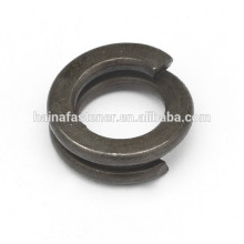 carbon steel double coil spring washer, types of spring washer from Chinese manufacture