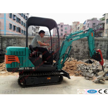 Wheel Crusher Crawler Crusher Excavator