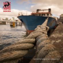 Tug boat use 8 strand uhmwpe towing rope