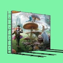 Resolução de locação de parede LED P3 da tela de vídeo