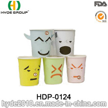 Single Wall 7oz Creative Paper Cup with Custom Printing (HDP-0124)