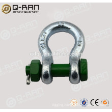 Bolt Type Shackle 2130/Rigging Drop Forged Zinc Plated Bolt Type Shackle 2130