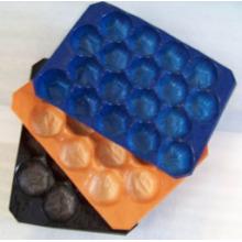 FDA Padrão de Teste 29X39 cm, 29X49 cm, 39X59 cm Bandeja de Exposição De Plástico Colorido Feito de Polipropileno Virgn Grau Alimentício