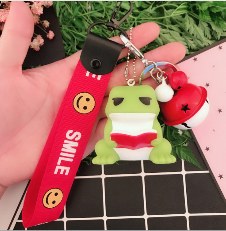 Silicone Keychain With Strap