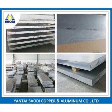 5083 6061 6063 6082 7075 Aluminum Alloy Plate