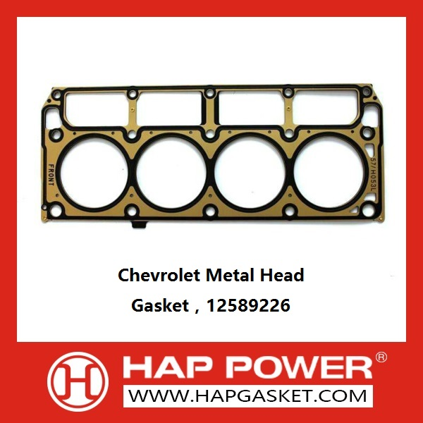 HAP-GM-020 Chevrolet Metal Head Gasket,12589226,