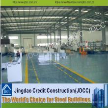 Taller de fábrica de fabricación de acero estructural