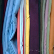 twill Tissu en popeline à carreaux teints en fil TC pour chemise homme et uniforme de chemise scolaire