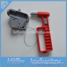 HF-839-2 martillo de seguridad de escape del coche multifunción martillo de emergencia cortador de cinturón de seguridad (certificado CE)