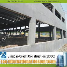 Oficina de estrutura de aço de painéis compostos de cimento