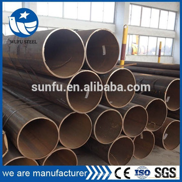 IOS CE SGS certificate SSAW/ LSAW Q345 steel pipe