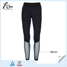 Custom Compression Pants Senhora Sexy Mesh Sports Wear