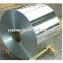 Hoja de aluminio hidrófilo