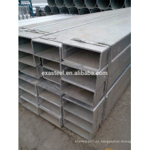 Grande OD cuadrado Tubo de acero galvanizado 100 * 1150