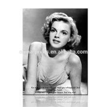 Audrey Hepburn y Marilyn Monroe Fotografía Impresión / Pintura Blanco y Negro / Art rint