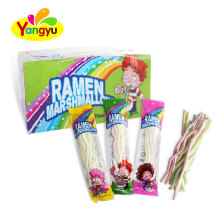 Beautiful modern children sweet slim long stick wholesale cotton candy