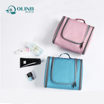 Novo design portátil Folding Travel Wash Toiletry Bag