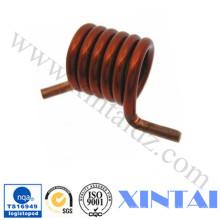 Ofrece resortes de torsión espirales de cobre personalizados