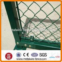 Alta qualidade e baixo preço de construção temporária cadeia link cerca