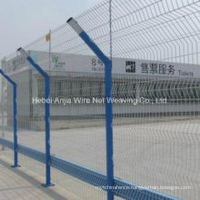 PVC Powder Coated Welded Wire Mesh Panel Fence