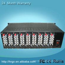 Vollbestückte 3U-Video-Multiplexer-Rack-Halterung