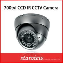 CCTV Cameras Fournisseurs 700tvl CCD IR Dome CCTV Caméra de sécurité