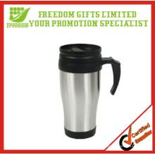Логотип Индивидуальные Кружки Кофеего Нержавеющей Стали С Крышкой